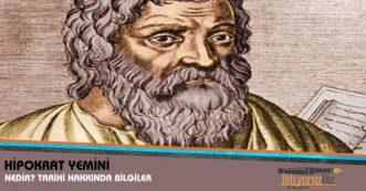 Hipokrat Yazıları ve Yemini Nedir? Hipokrat Yemini Tarihi Hakkında Bilgiler