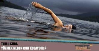 Tuzlu Suda ( Denizde ) Yüzmek Neden Çok Kolaydır?