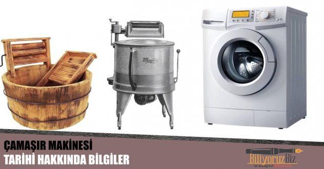 Çamaşır Makinesinin Tarihi Hakkında Bilgiler